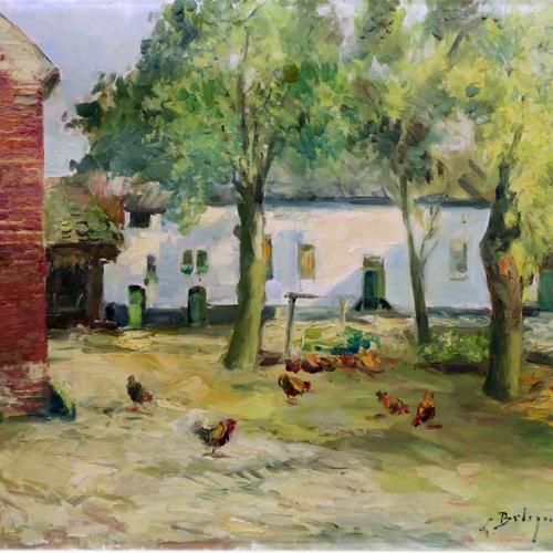 Peintures et dessins originaux d'artistes belges, peintres ainsi que gravures et lithographies que vous pouvez acheter en ligne dans notre galerie d'art, Belgian Art Gallery.